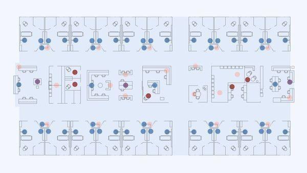 Five ways to improve teamwork in healthcare environments floorplan