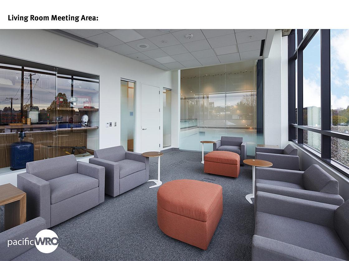 Salem Police Living Room Meeting Area